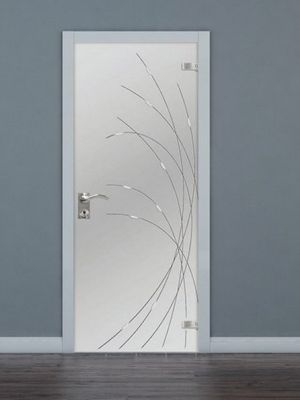 стекляные двери